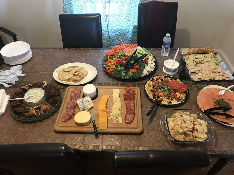 Look at that spread!