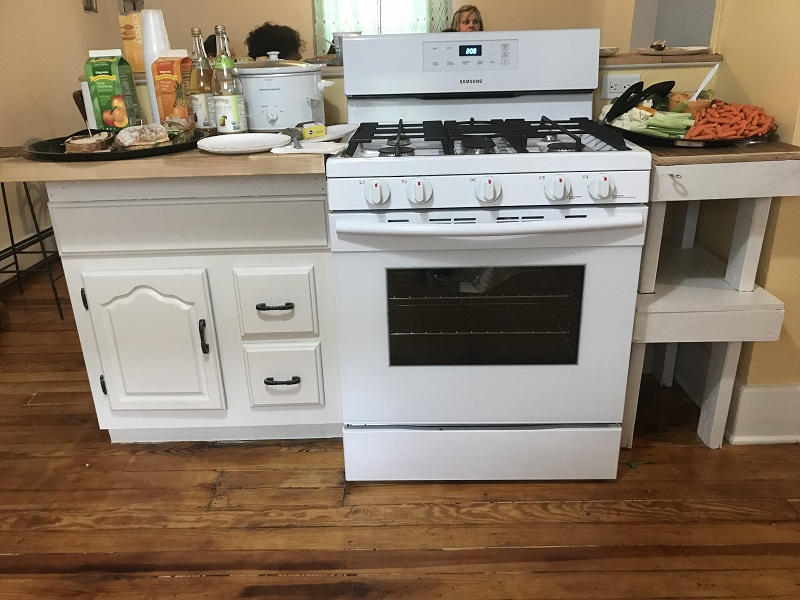 Don't you want to cook on this stove?